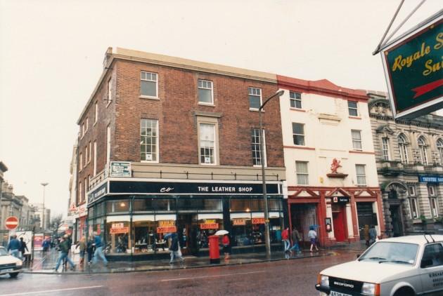Church Street (north side), Preston February 1988