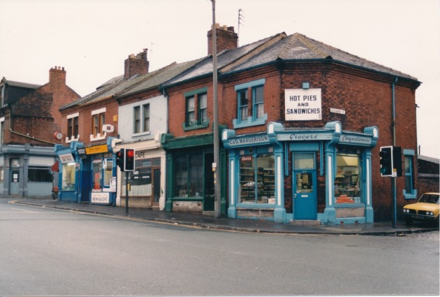 Marsh Lane (south side), Preston March 1989