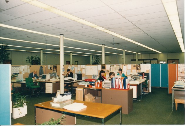 Offices of Horrockses Centenary Mill, New Hall Lane, Preston July 1988