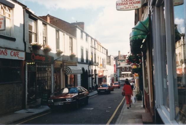 Cannon Street, Preston May 1987