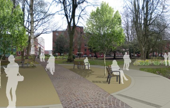 Winckley Square gardens - Ellipse Visual