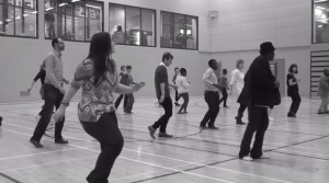 Dancing at UCLan for last year's event
