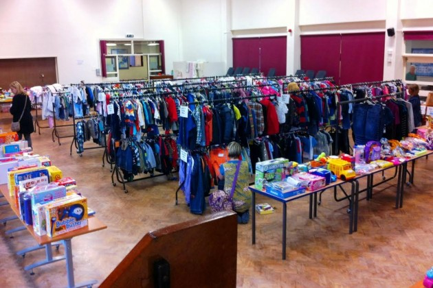 Last year's Nearly New Sale