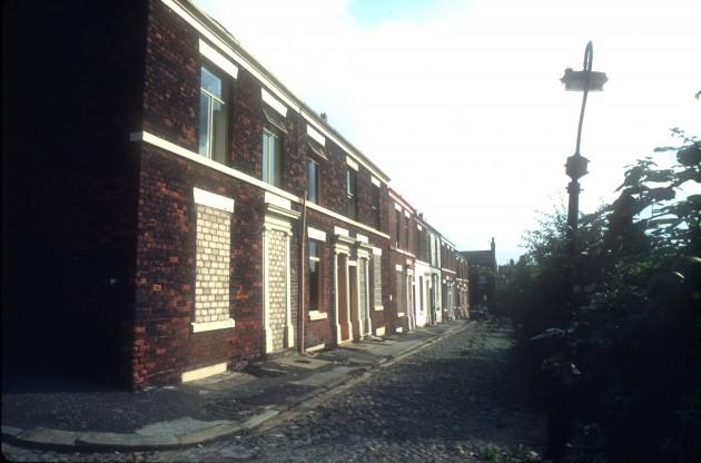 Nelson Terrace, Preston 1984