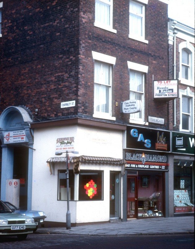 Fishergate - Charnley Street, Preston 1986