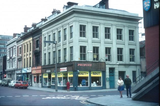 Lancaster Road - Lord Street, Preston 1984