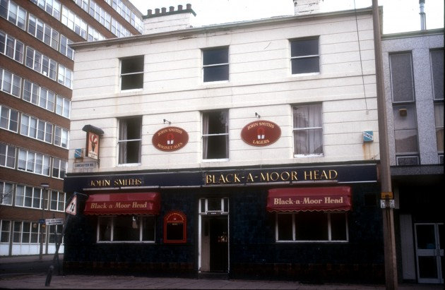 Black-A-Moor-Head Hotel, Lancaster Road and Old Vicarage, Preston 1985
