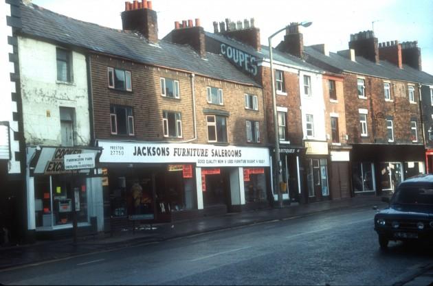 Church Street, Preston (north side) 1984