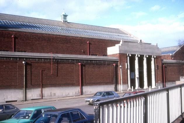 Saul Street Baths, Ringway, Preston 1987