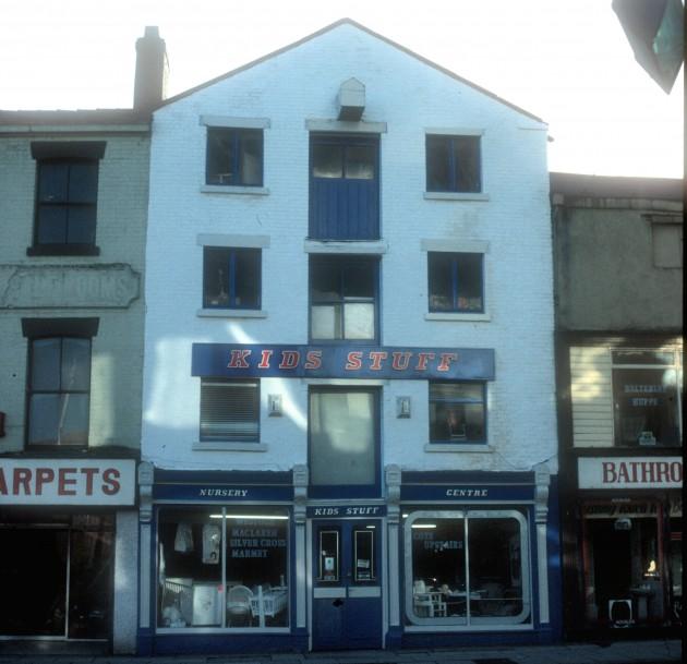 Kids Stuff Shop, Church Street (south side), Preston 1988