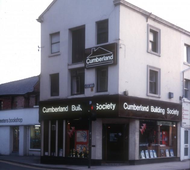 Junction of Fishergate and Mount Street, Preston 1985