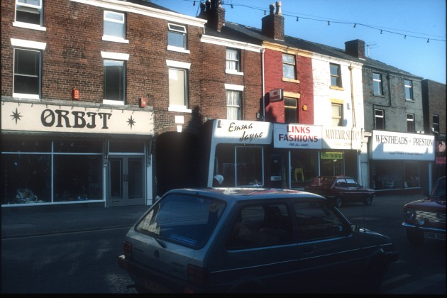 Friargate (lower north side), Preston 1987