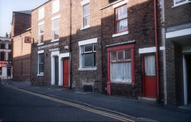 Oddfellows Arms (currently Hartleys), Mount Street, Preston 1988