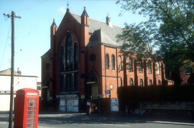 Methodist Church, Fylde Road, Preston 1987
