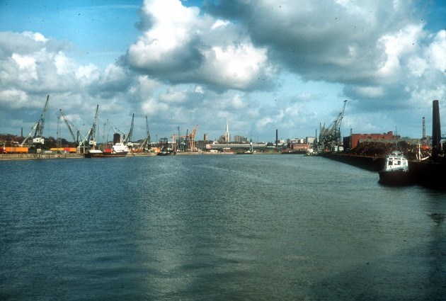 Preston Dock Basin 1980