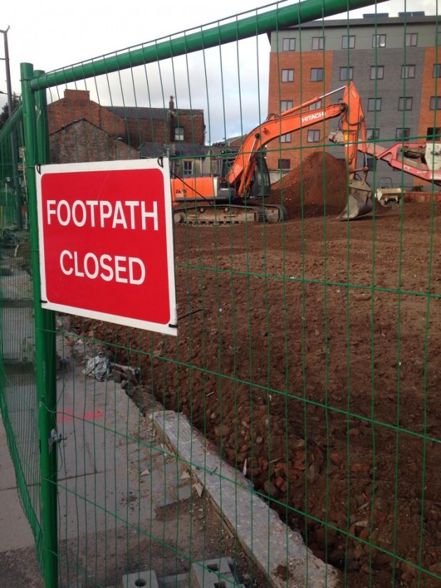 Former Bambers furniture shop premises demolished in regeneration process