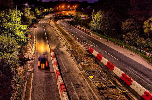 Roadworks have been ongoing on the A582 for the last couple of years