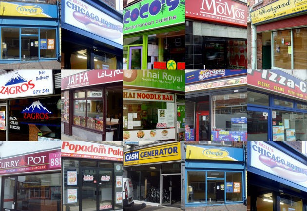 Fast food outlets and payday loan stores were among the factors which counted against Preston Pic: Tony Worrall