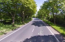 Preston New Road where the woman was found