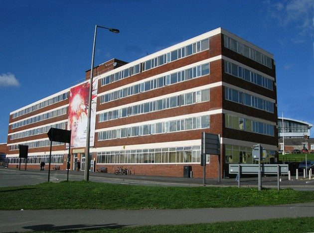 Fylde Building would be knocked down as part of the UCLan plans for the Adelphi roundabout Pic: George Thompson