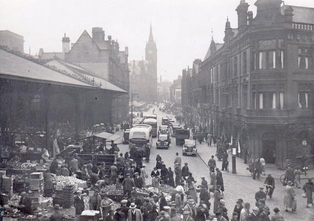 Market Street in 1940 Pic: Preston Digital Archive