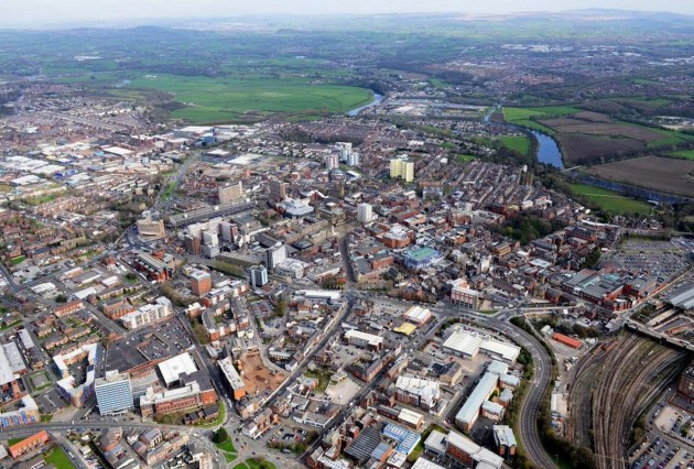 Preston city centre and beyond