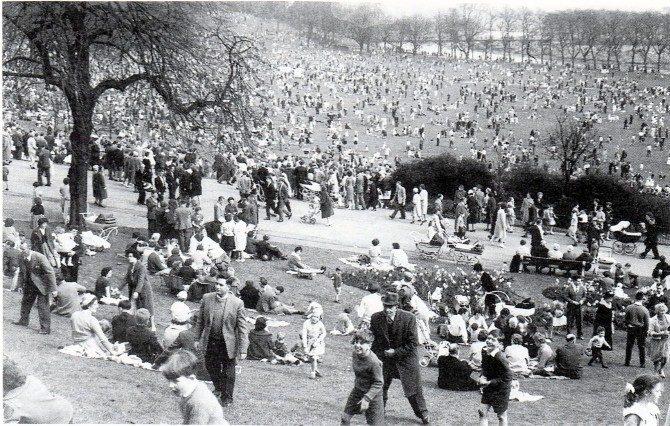 Avenham Park egg rolling has been going on for centuries