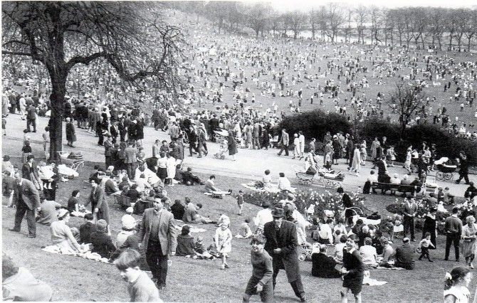 Avenham Park egg rolling has been going on for centuries