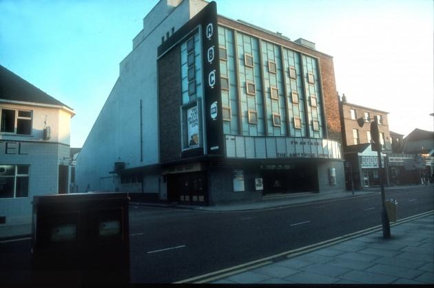 ABC Cinema, Fishergate (south side), Preston 1979