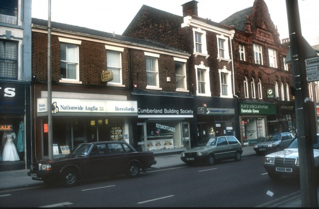 Fishergate (lower north side), Preston 1989