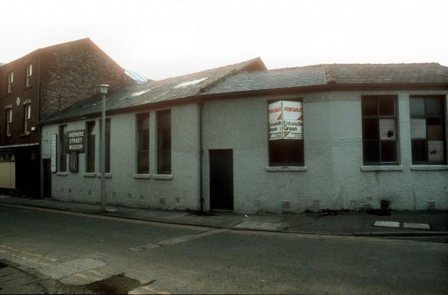 Shepherd Street Mission, Shepherd Street, Preston 1983
