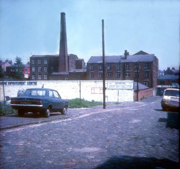 Brookfield Street, (future site of B&Q DIY store), Preston 1971