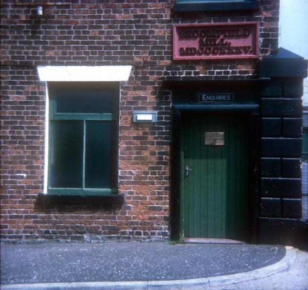 Broomfield Mill, Broomfield Mill Street, Preston 1971