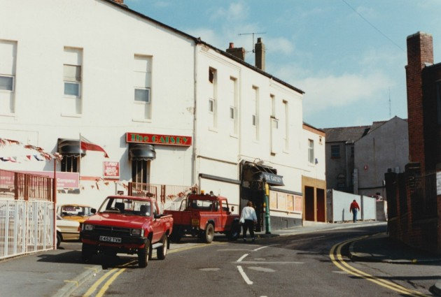 The Gatsby Nightclub, Great Shaw Street, Preston c.1989: Pic Preston Digital Archive