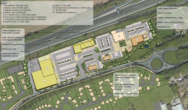 Layout of the new Eastway Hub plans