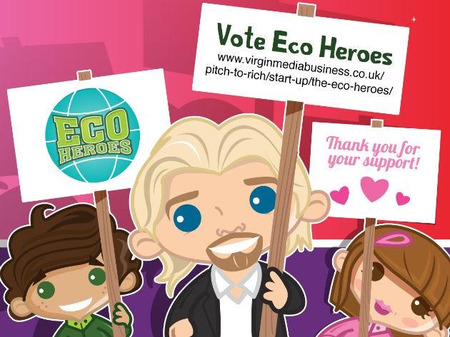 Eco Heroes have created their own cartoon for the voting