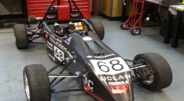 Formula UCLan's 2014 competition entry