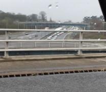 Taken around lunchtime of queues on the M6 northbound Twitter: PFM1972