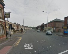 The New Hall Lane junction with Acregate Lane where the incident happened Pic: Google Maps