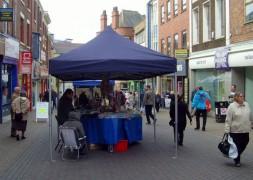Shoppers in Preston city centre Pic: Tony Worrall