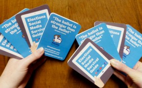 The social media guide produced for election candidates