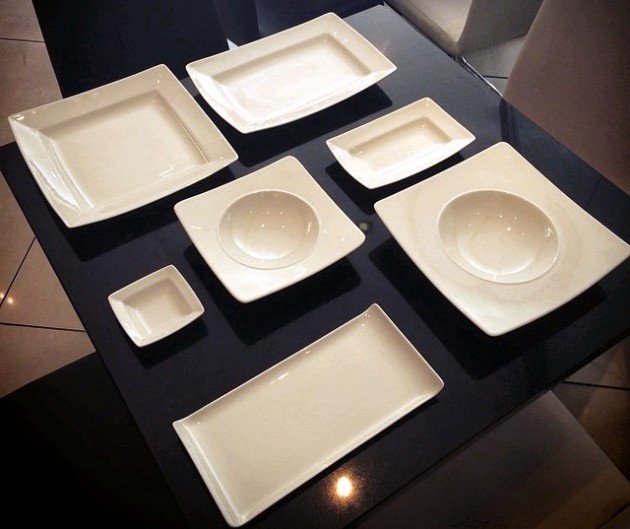 Chris has been shopping for some new crockery to compliment the planned decor for the resaurant. What do you think?