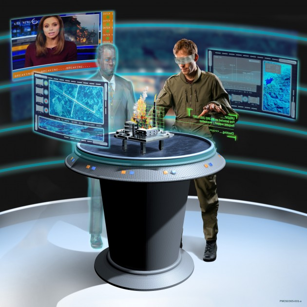 The Portable Command Centre concept uses commercial technology to create a semi-virtual environment that can   tackle emergency scenarios.