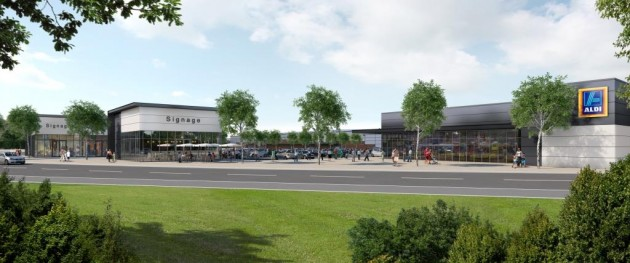 Artist impression of what the scheme will look like