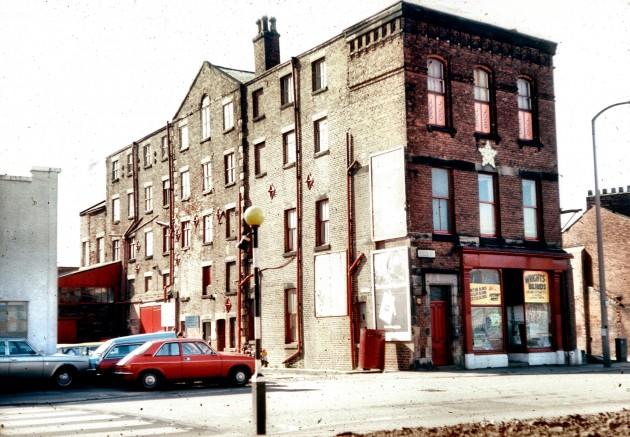 Former Moss Mill, Moss Street, Fylde Road, Preston 1978