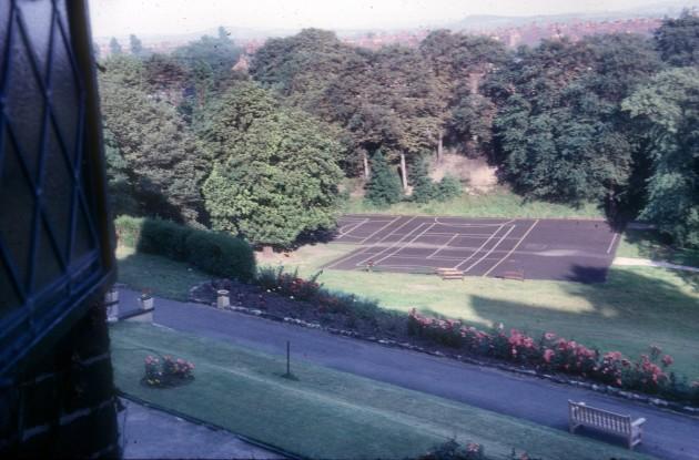 Larkhill - Playing field from Chapel, Preston 1966