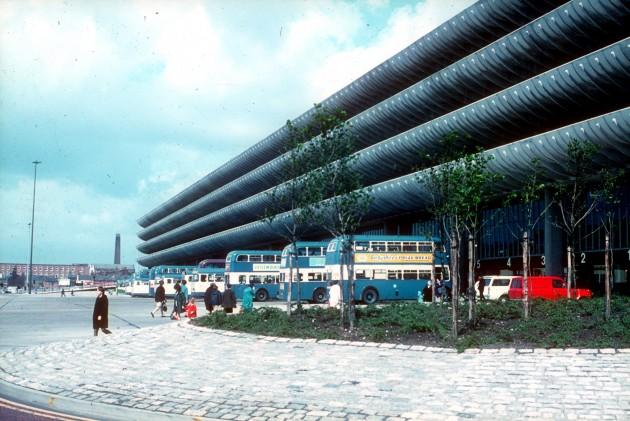 Central Bus Station, Tithebarn Street, Preston 1971