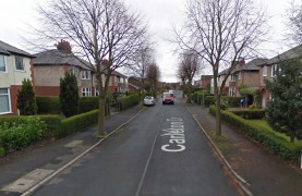 Carleton Drive where the collision took place