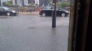A previous downpour in Preston