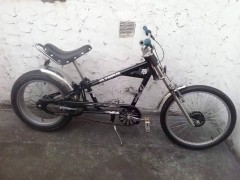 The bike taken from New Hall Lane
